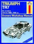 Triumph TR7 Haynes Manual