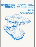 Triumph TR7 Parts Catalogue 1979 Onwards