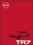 Triumph TR7 Repair Operation Manual