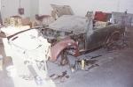TR7 DHC MWU 556V Restoration - Bodywork