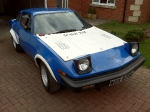 My TR7V8 Rally Car